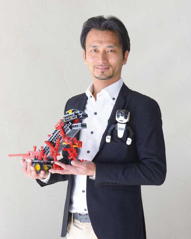 ロボットクリエイター 高橋 智隆 先生